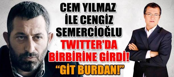 Cem Yılmaz ile Cengiz Semercioğlu Twitter'da birbirine girdi!
