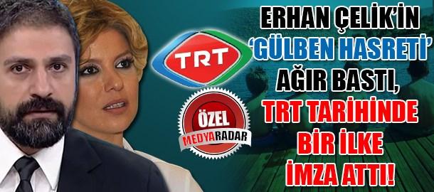Gülben Ergen ve çocukların hasreti ağır bastı, Erhan Çelik TRT tarihinde bir ilke imza attı! (Medyaradar/Özel)