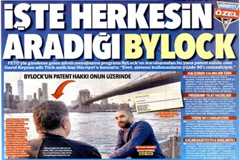 Hürriyet'in Bylock haberine