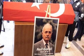 Duayen gazeteci Nail Güreli son yolculuğuna uğurlandı!
