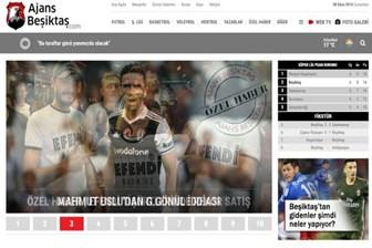 Türkiye'de spor basınına taze bir kan geldi: ajansbesiktas.com