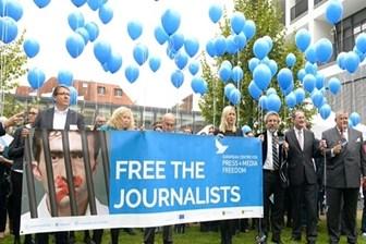 Leipzig Basın Özgürlüğü ödülü Erdem Gül ve Can Dündar'ın