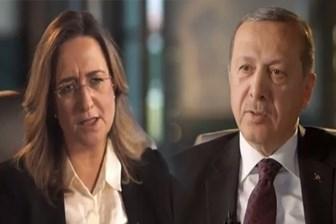 Erdoğan, İsrailli gazeteciye ayar verdi: Sen beni sıkıştırabileceğini sanıyorsan...