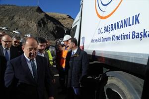 Bakan Akdağ, Siirt'teki maden faciası bölgesinde