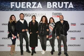 Ünlü isimlerden Fuerza Bruta çıkarması