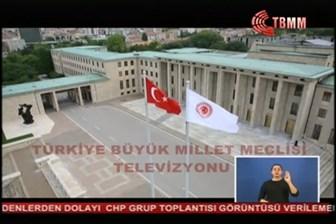 Meclis Tv yayını kesti! CHP'liler Meclis TV'yi bastı
