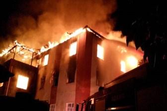 Kız öğrenci yurdunda yangın faciası: 11'i öğrenci 12 kişi öldü