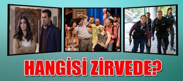 Arka Sokaklar, Aşk ve Mavi, Güldür Güldür Show! Reyting yarışını hangisi kazandı?