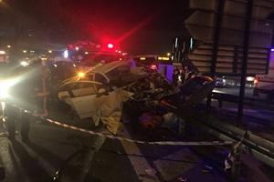 GÜNCELLEME - Bahçelievler'de trafik kazası: 2 ölü, 2 yaralı