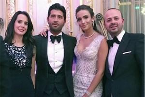 Türkiye güzeli Paris'te evlendi!