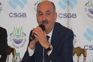 Bakan Müezzinoğlu'na gazeteciden tepki