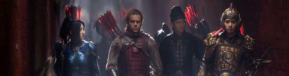 Yılın son filmleri harika: Çin Seddi korkunç düşmana karşı direniyor!