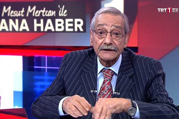 Dileği gerçek oldu! Usta spiker Mesut Mertcan TRT'de Ana Haber'i sundu!