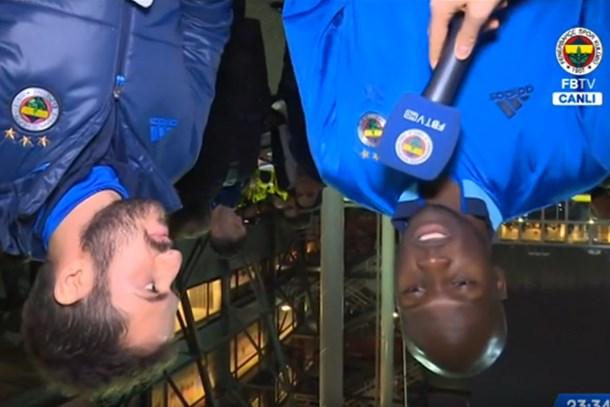 Fenerbahçe TV Sow ile 'ters röportaj' yaptı!