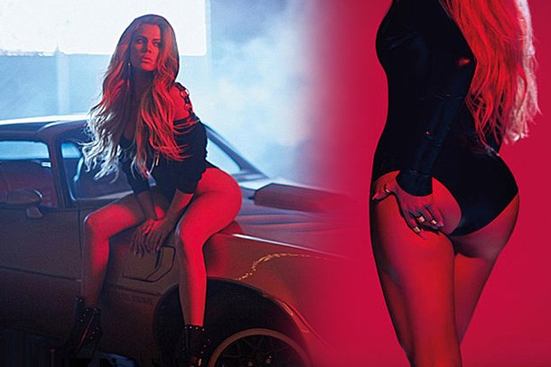 Khloe Kardashian GQ Deutschland'a poz verdi