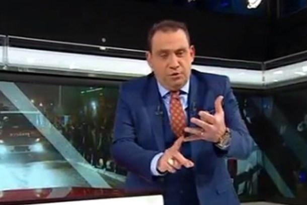 Erkan Tan, Hüsnü Mahalli'yi canlı yayında hedef gösterdi: Sen katilin itisin!