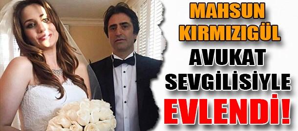 Mahsun Kırmızıgül avukat sevgilisiyle evlendi!