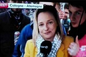 Muhabir canlı yayında tacizi anlatırken tacize uğradı