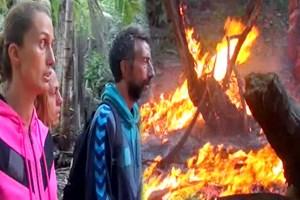 Ünlüler adasında yangın şoku!