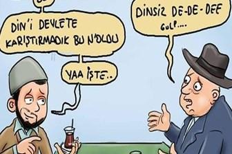 İslamcı derginin laiklik karikatürü sosyal medyayı salladı!