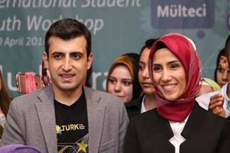 Sümeyye Erdoğan ve nişanlısı ilk defa yanyana poz verdi