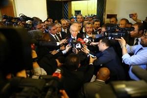 Devlet Bahçeli gazetecileri fırçaladı