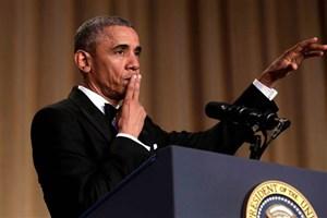 Obama, muhabirlere böyle veda etti