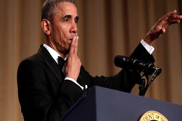 Obama, muhabirlere böyle veda etti!
