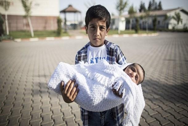 Suriyeli çocukların acıları kitaplaştı!