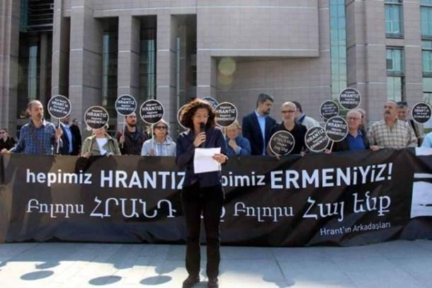 Hrant'ın arkadaşları: Hangi güçten olursa olsun hesap versin!