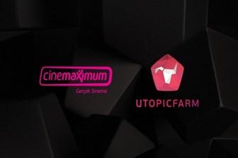 Cinemaximum'un yeni reklam ajansı Utopic Farm oldu