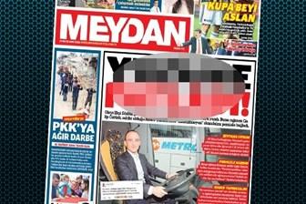 Meydan Gazetesi'nden skandal manşet! Pornografik başlık sosyal medyayı sarstı!
