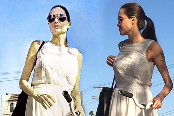 Son hali ürküttü! Sevenleri Angelina Jolie'ye ağlıyor!