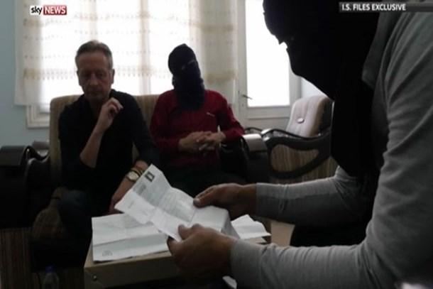 Esad-IŞİD işbirliği belgelerine Sky News ulaştı!
