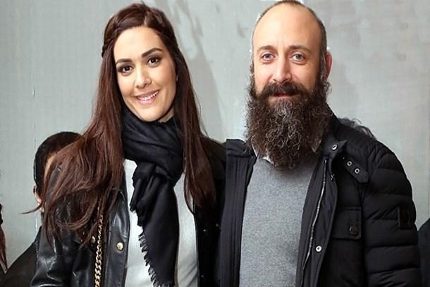 Halit Ergenç'in yeni partneri kriz çıkarttı!