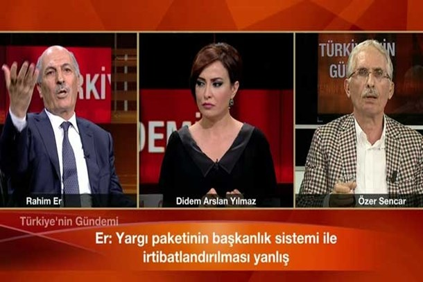 CNN Türk canlı yayınında sert sözler! 'Neyini ciddiye alayım, laf salatası'