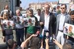 Metris Cezaevi önünde 'Gazetecilere özgürlük' eylemi