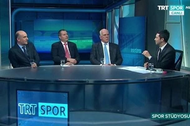 TRT Spor canlı yayınında skandal harita: Avrupa Yakası ve Trakya sınır dışı