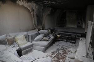 Ünlü türkücünün evi kül oldu çocukları ölümden döndü!
