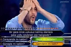 İstanbul Üniversitesi öğrencisi ilk soruda elendi