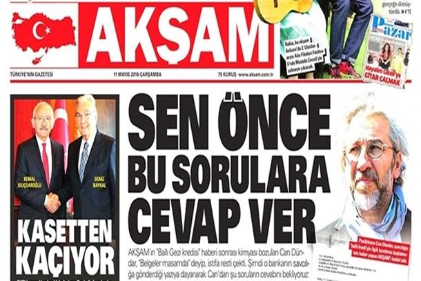 Basın Konseyi'nden Akşam gazetesine kınama!