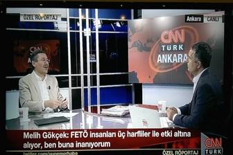 Melih Gökçek'ten 'enteresan' iddia: Fethullah Gülen, insanları üç harflilerle esir alıyor!