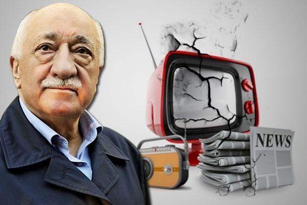 Medyada FETÖ depremi! 3 ajans, 16 tv, 45 gazete kapatıldı!