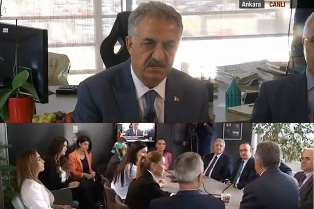 Darbe barış getirdi! AK Parti'den CNN Türk'e teşekkür ziyareti!
