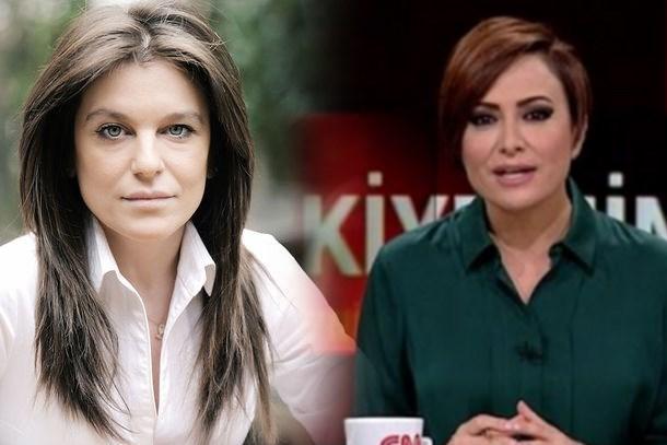 CNN Türk sunucusu gazeteciye posta koydu: Hadi oradan, başka kapıya