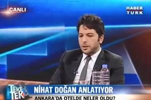Nihat Doğan, Fethullah Gülen'i böyle taklit etti