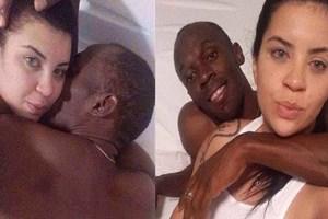 Bu fotoğraflar başını ağrıtacak! Usain Bolt yatakta bir kadınla!