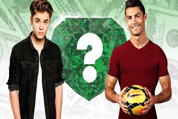 Ronaldo ve Justin aynı filmde!
