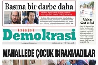 Yeni bir gazete yayın hayatına başladı!