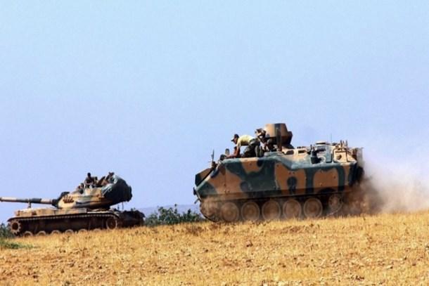 Türk Silahlı Kuvvetleri Suriye'de operasyon başlattı! IŞİD'e bomba yağıyor!